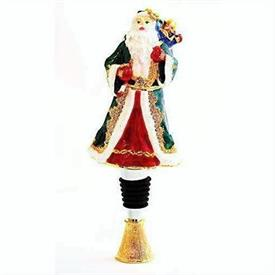 -SANTA CLAUS BOTTLE STOPPER.
