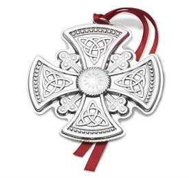 "_,4th Edition Cross Sterling Silver Ornament.  3.25"" Wide by 3.5"" High. MSRP $225.00"