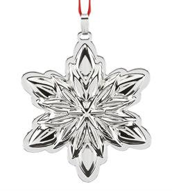 "_Holiday Star Sterling Silver Christmas Ormament made by Reed & Barton in USA Height 3.5"" MSRP $150 Stock #875061 Year produced 2017"
