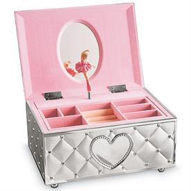 -BALLERINA JEWELRY BOX. PLAYS 'FUR ELISE'. MSRP $84.00