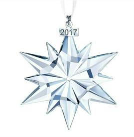 ",2017 ANNUAL ORNAMENT. 3"" WIDE"