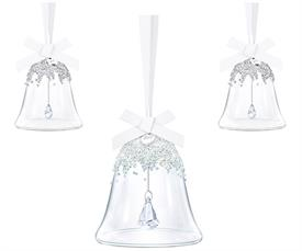 ,2017 3 BELL SET. INCLUDES ONE LARGE & TWO SMALL 2017 BELL ORNAMENTS
