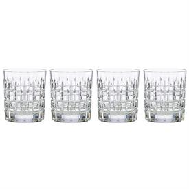-SET OF 4 DUNCAN DOUBLE OLD FASHIONED GLASSES