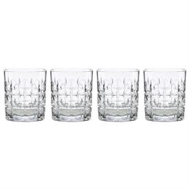 -SET OF 4 ODEON DOUBLE OLD FASHIONED GLASSES