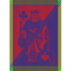 -,CARTE ROI FESTIVAL KITCHEN TOWEL. 22X30""