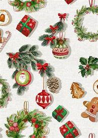 -,MILLE CHRISTMAS MINI NOEL KITCHEN TOWEL. 20X28""