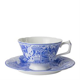 ,_TEA CUP & SAUCER SET, NEW FROM DISPLAY. MSRP $125.00