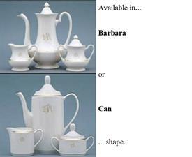NEW 4PC. TEA SET