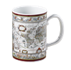 -MUG, BLAEU MERCATOR MAP