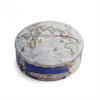 -ROUND BOX, 'EAST' MAP OF