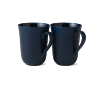 -PAIR OF MUGS WITH HANDLE