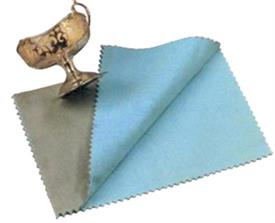 "-SILVER DUSTER 12"" X 15"" WITH R22 TARNISH  PREVENTATIVE SOLUTION, THIS IS THE PERFECT CLOTH FOR A QUICK TOUCH UP."