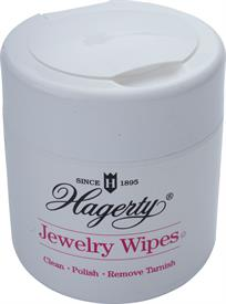 -16740 JEWELRY WIPES 20 DISPOSABLE 7.9X3.3 WIPES CLEAN-POLISH-REMOVE TARNISH