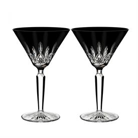 ",-SET OF 2 MARTINI GLASSES. 7.1"" TALL"