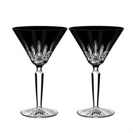 "-SET OF 2 MARTINI GLASSES. 7.1"" TALL"