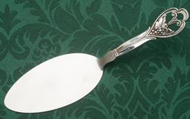 """,DANISH PASTRY SERVER SILVER HANDLE WITH STAINLESS STEEL SERVING BLADE 8.25"""" LONG"""