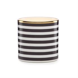 -,VOTIVE HOLDER, SMALL STRIPES.