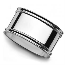 -OVAL NAPKIN RING. STERLING SILVER