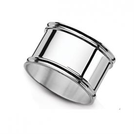 -,ROUND NAPKIN RING. STERLING SILVER