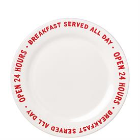 """-24 HOURS ACCENT PLATE, 'ORDER'S UP' COLLECTION. 9"""" WIDE. MSRP $13.00"""