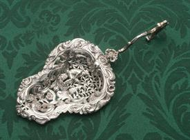 "DUTCH OLD WORLD MADE IN EUROPE BONBONNIERE SPOON UNMARKED 800 FINE SILVER 1.50 TROY OUNCES 7.3"" LONG"