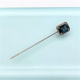 ",RARE HICKOCK TIGER'S EYE CARVED CAMEO CUFFLINKS. CA. 1950'S. .6"" LONG, .5"" WIDE"