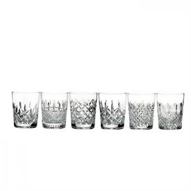 -SET OF 6 HERITAGE DOUBLE OLD FASHIONED GLASSES, 13.5 OUNCE