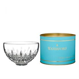 "-5"" LISMORE 'HONEY' BOWL IN DAIRQUIRI BLUE TUBE"