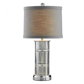 "-LINEAR 26"" TABLE LAMP WITH SHADE"