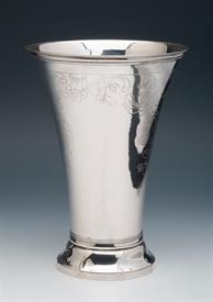 ",OLD EUROPEAN SILVER VASE 14.60 TROY OUNCES CONDITION IS NICE 8"" TALL UNIDENTIFIED ORIGIN BUT PROBABLY EASTERN EUROPEAN"
