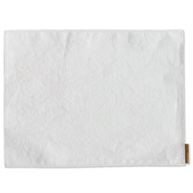 """_,SET OF 4 WHITE WASHABLE PAPER PLACEMATS. 18"""" LONG, 13.75"""" WIDE"""
