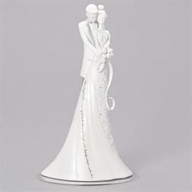 "-'FIRST DANCE' WEDDING CAKE TOPPER. 9"" TALL"