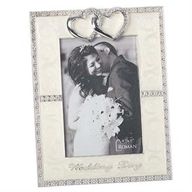 "-,4X6"" WEDDING DAY FRAME"