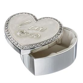 -,'LOVE' HEART KEEPSAKE BOX
