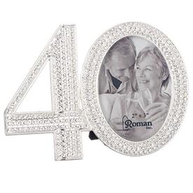 "-,2X3"" 40TH ANNIVERSARY FRAME"
