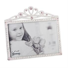 "-,4X6"" PRINCESS CROWN FRAME"