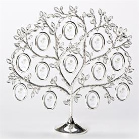 "-12"" FAMILY TREE FRAME. HOLDS 12 MINIATURE PICTURES"