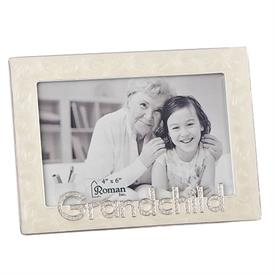 "-4X6"" GRANDCHILD FRAME IN IVORY"