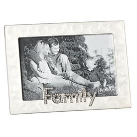 "-4X6"" FAMILY FRAME IN IVORY"