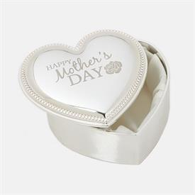 -MOTHERS' DAY KEEPSAKE HEART BOX