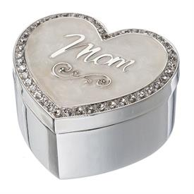 -'MOM' KEEPSAKE HEART BOX
