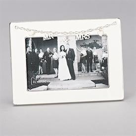 "-,4X6"" MR. & MRS. CHARM FRAME"