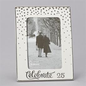 "-,4X6"" 25TH ANNIVERSARY CELEBRATE FRAME"
