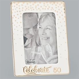"-,4X6"" 50TH ANNIVERSARY CELEBRATE FRAME"