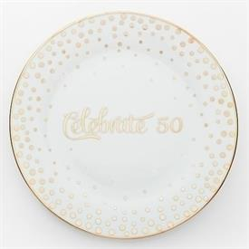 _,50TH ANNIVERSARY CELEBRATION PLATE. 9.75""