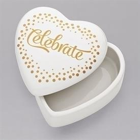 -,CELEBRATE HEART KEEPSAKE BOX