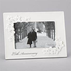 "-,4X6"" 25TH ANNIVERSARY LOVE BLOOMS FRAME"