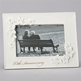 "-,4X6"" 50TH ANNIVERSARY LOVE BLOOMS FRAME"