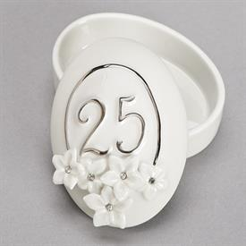 -,25TH ANNIVERSARY LOVE BLOOMS KEEPSAKE BOX