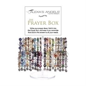 -ASSORTED PRAYER BOX BEADED BRACELETS